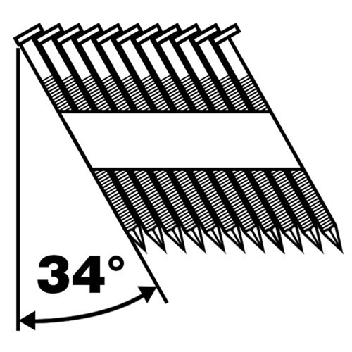Collated Nails Galvanized Common Nails For Frame Fixing